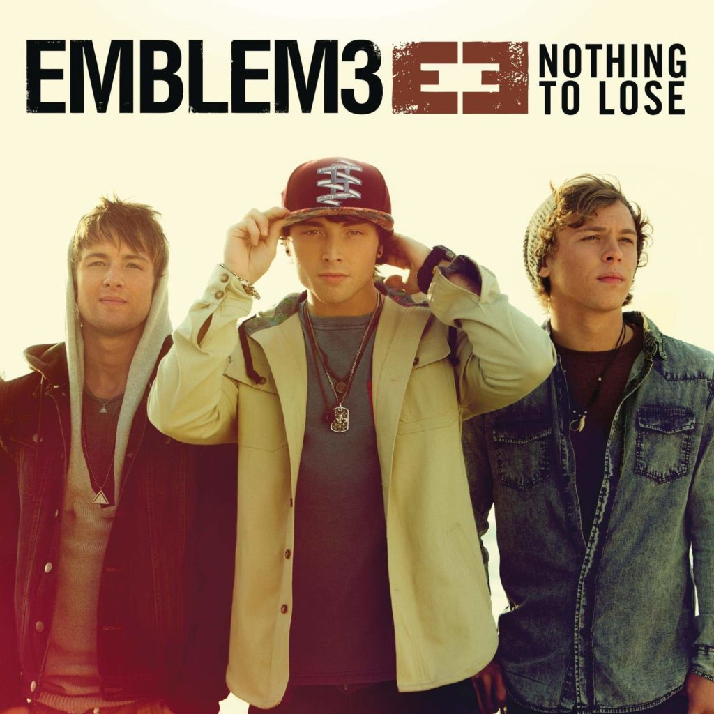 Emblem3, Nothing to Lose [Photo Credit: Sony]